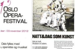 Entrevista – Oslo Opera Festival