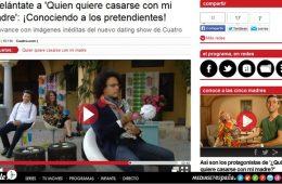 Participación en reality show – Canal Cuatro